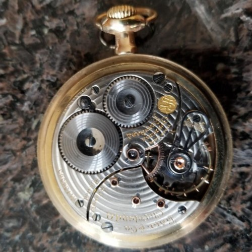 Image of Ball - Waltham Official Standard #B134343 Movement