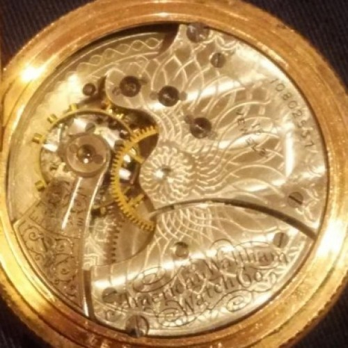 Waltham Grade Seaside Pocket Watch