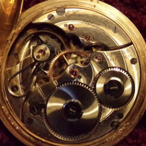 Image of E. Howard Watch Co. (Keystone) Series 3 #944635 Movement