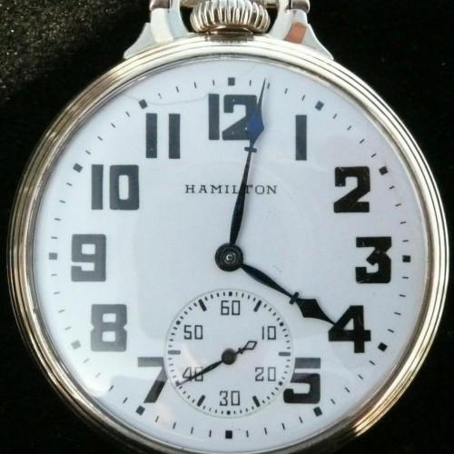 Image of Hamilton 992B #C61213 Dial