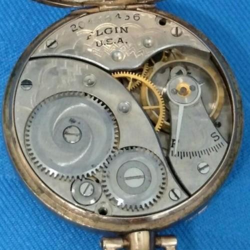 Elgin Grade 418 Pocket Watch Image