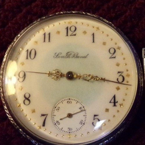 South Bend Grade 280 Pocket Watch Image