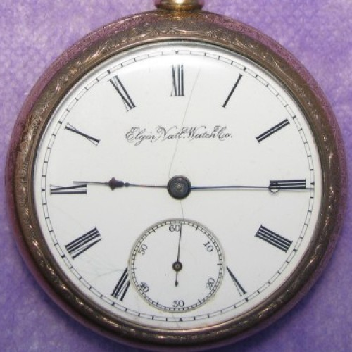 Elgin Grade 76 Pocket Watch Image