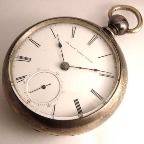 Newark Watch Co. Grade W.H.Calhoun Pocket Watch Image