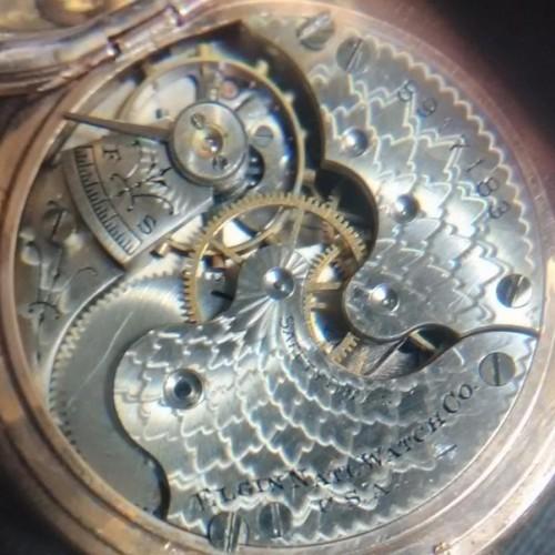 Elgin Grade 222 Pocket Watch Image