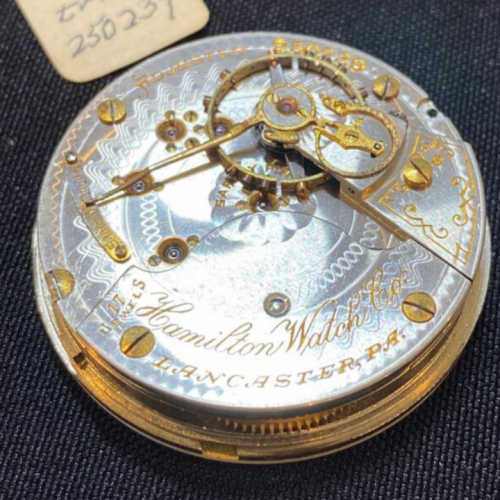 Hamilton Grade 926 Pocket Watch Image