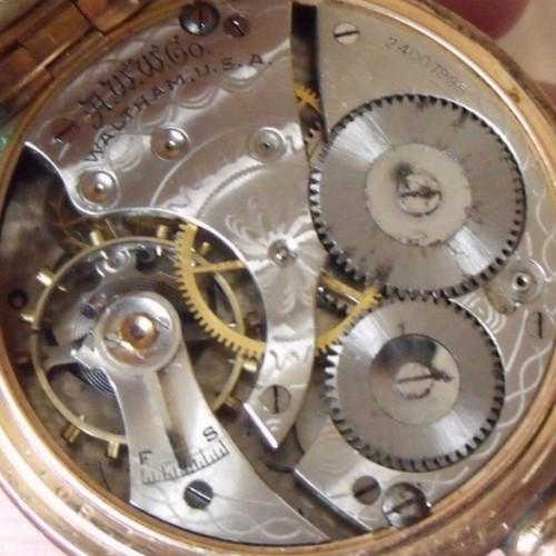 American Watch Co. Grade Unknown Pocket Watch Image