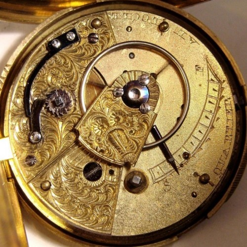 Other Grade Olivier Quartier - LeLocle Pocket Watch Image