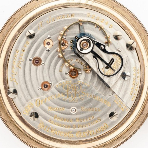 Image of Ball - Hamilton 999H #923245 Movement