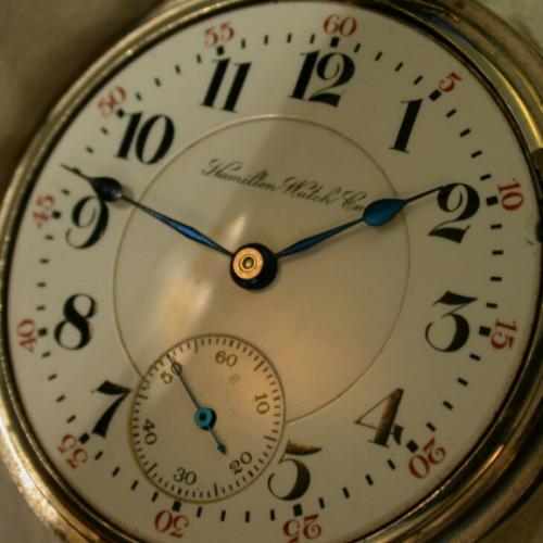 Hamilton Grade 942 Pocket Watch Image
