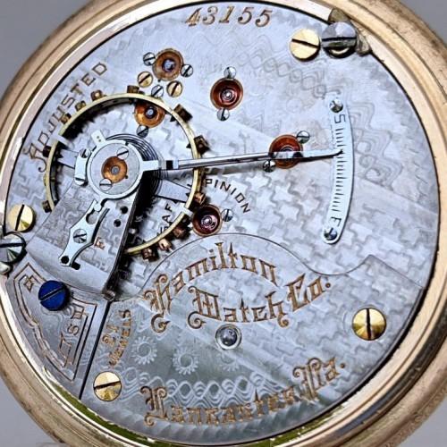 Hamilton Grade 941 Pocket Watch Image