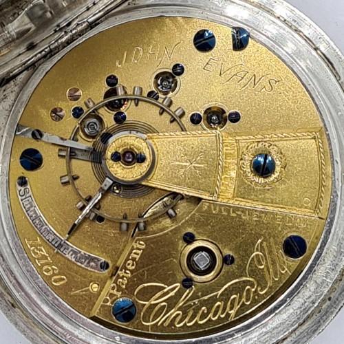 Cornell Watch Co. Grade John Evans Pocket Watch Image