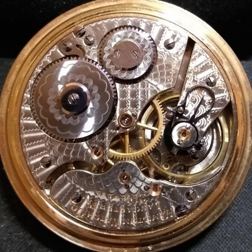 Hamilton Grade 990 Pocket Watch