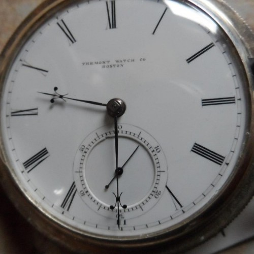 Tremont Watch Co. Grade washington st. Pocket Watch Image