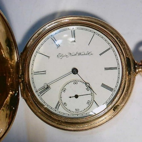 Elgin Grade 4 Pocket Watch Image