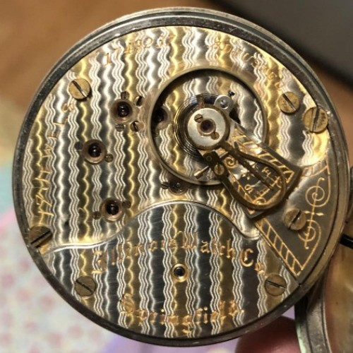 Illinois Grade 89 Pocket Watch Image