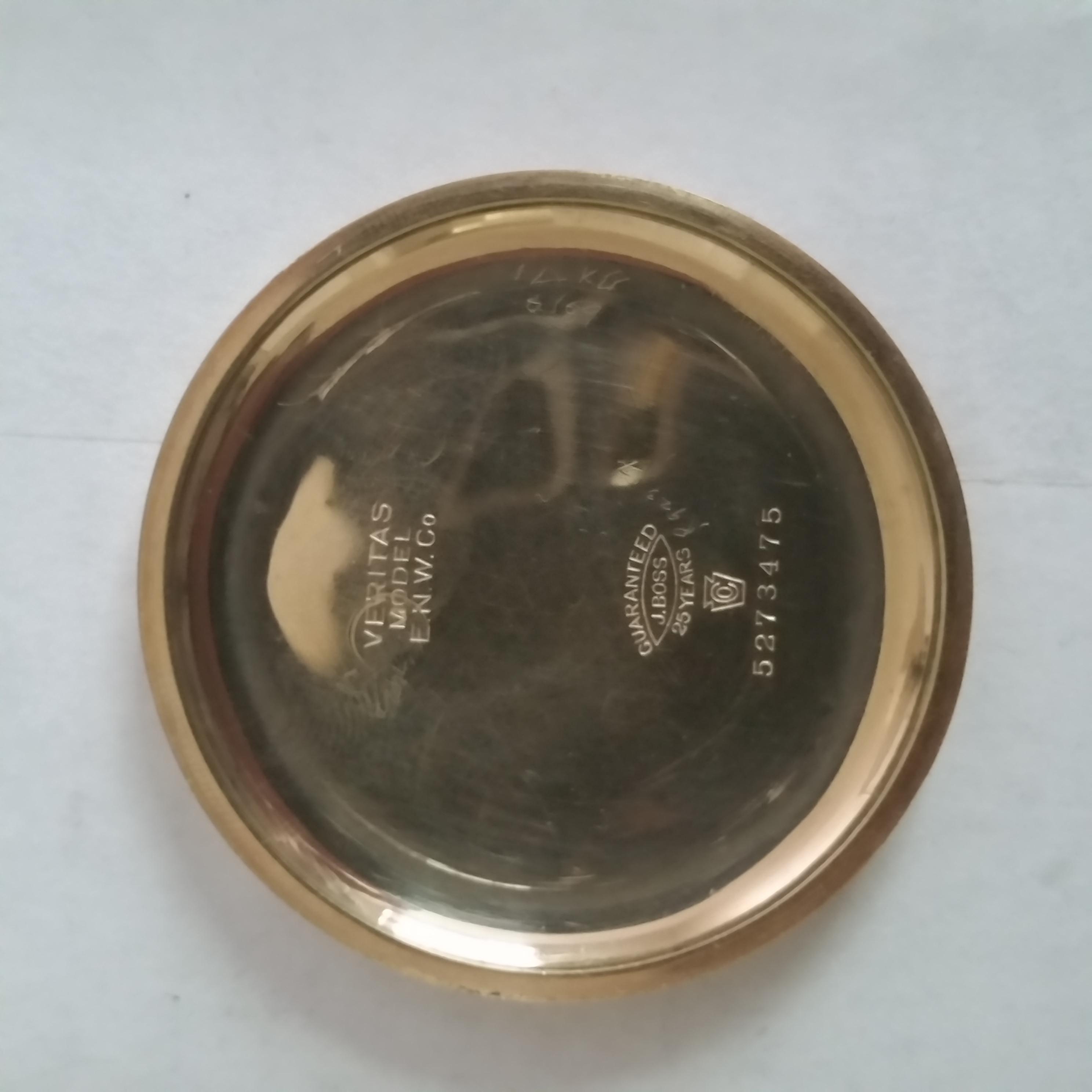 Elgin Grade 390 Pocket Watch Image