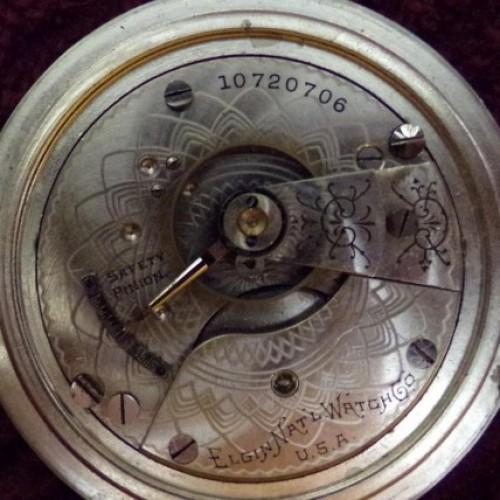 Elgin Grade 288 Pocket Watch