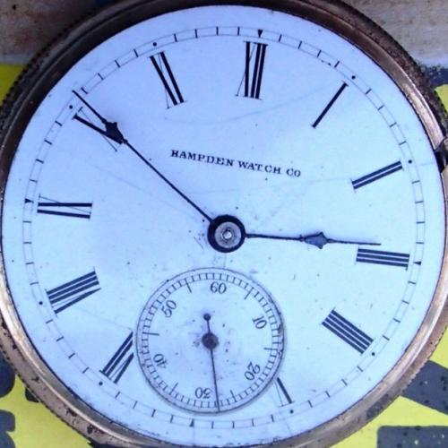 Hampden Grade No. 56 Pocket Watch Image