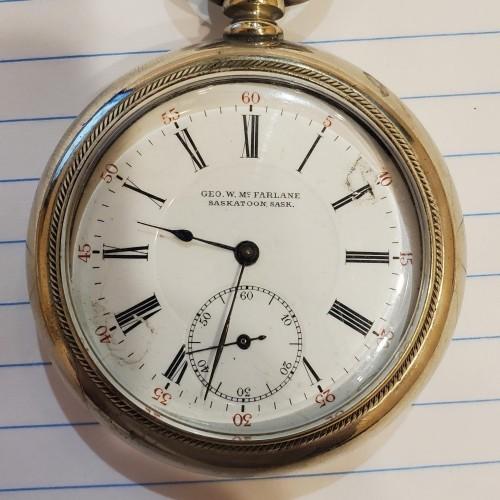 Swiss Generic Grade Unknown Pocket Watch Image