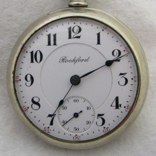 Rockford Grade 918 Pocket Watch