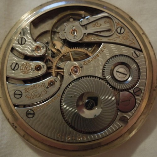 Rockford Grade 525 Pocket Watch Image