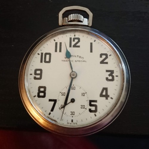 Hamilton Grade  Pocket Watch Image