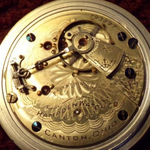 Hampden Grade No. 65 Pocket Watch Image