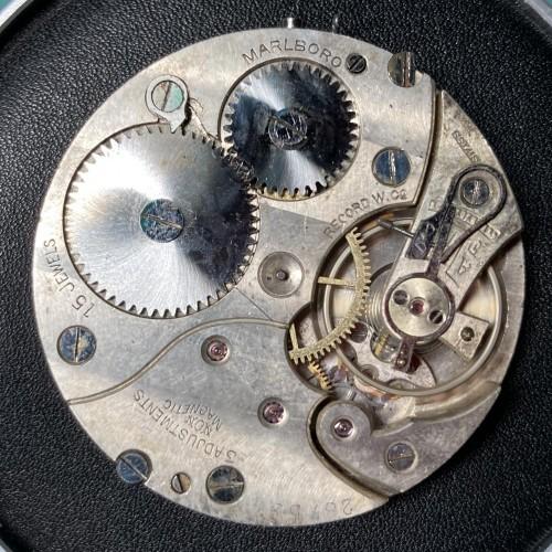 Swiss American Imitation Grade Marlboro Pocket Watch Image