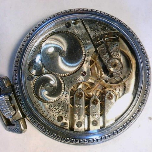 Elgin Grade 247 Pocket Watch Image