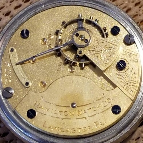 Hamilton Grade 7J Pocket Watch
