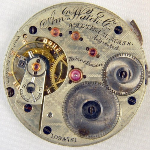 Waltham Grade Amn. Watch Co. Pocket Watch Image