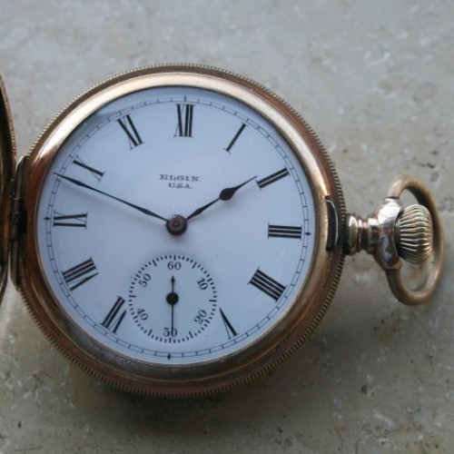 Elgin Grade 212 Pocket Watch Image