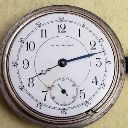 Seth Thomas Grade 37 Pocket Watch Image
