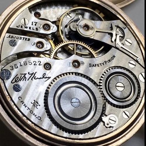 Hampden Grade Wm. McKinley Pocket Watch