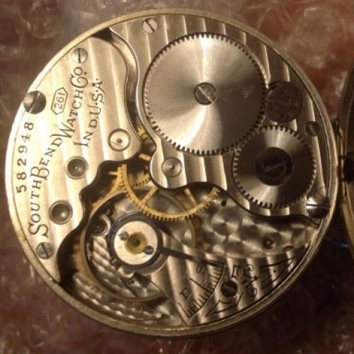 South Bend Grade 261 Pocket Watch Image