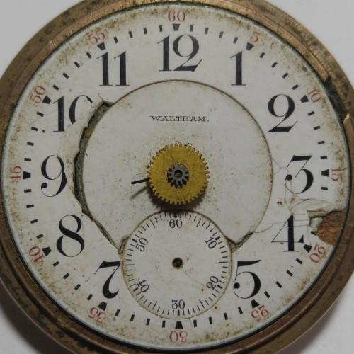 Waltham Grade No. 845 Pocket Watch Image