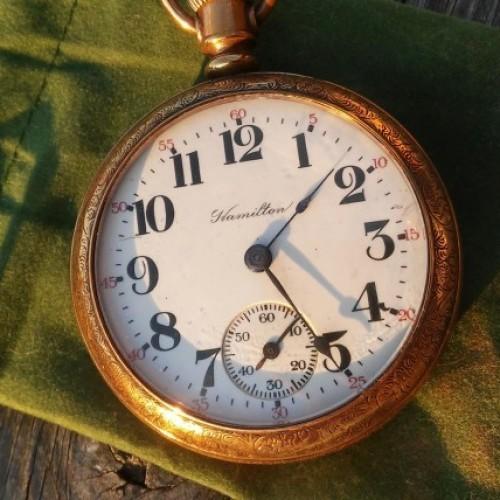 Hamilton Grade 924 Pocket Watch Image