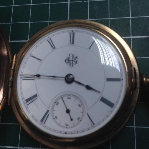 Aurora Watch Co. Grade  Pocket Watch Image