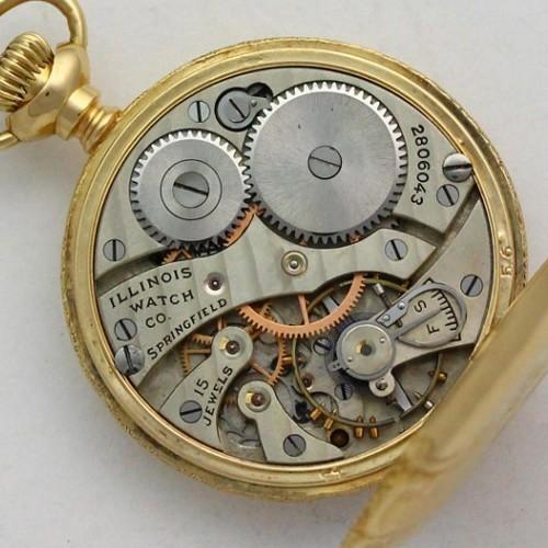 Illinois Grade 203 Pocket Watch Image