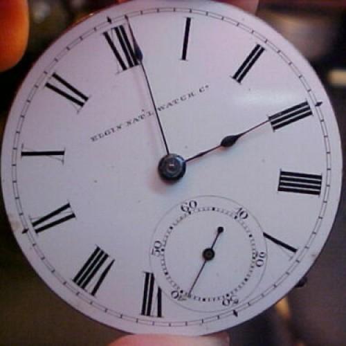 Elgin Grade 8 Pocket Watch Image