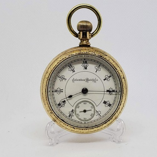 Columbus Watch Co. Grade North Star Pocket Watch Image