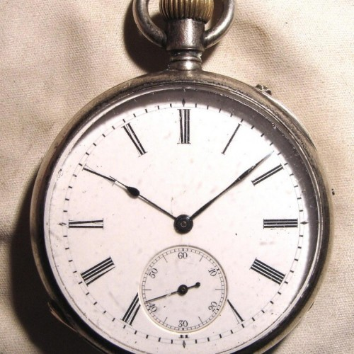 Other Grade Glashutte Pocket Watch Image