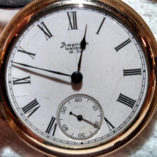 Waltham Grade No. 85 Pocket Watch Image