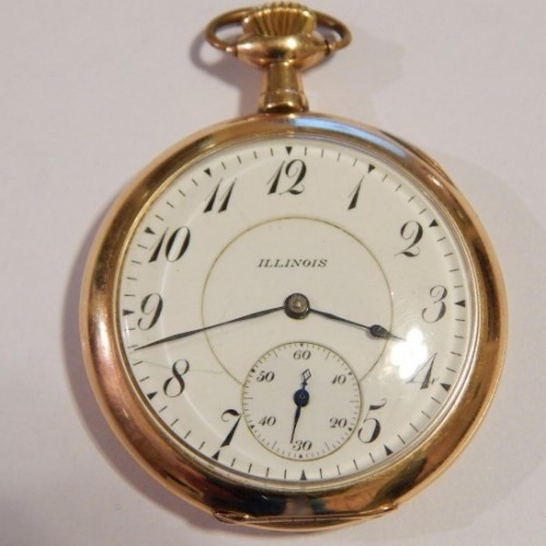Illinois Grade 409 Pocket Watch Image