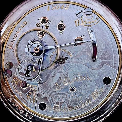 Hamilton Grade 939 Pocket Watch Image