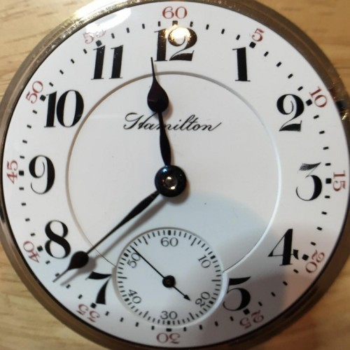 Hamilton Grade 936 Pocket Watch Image