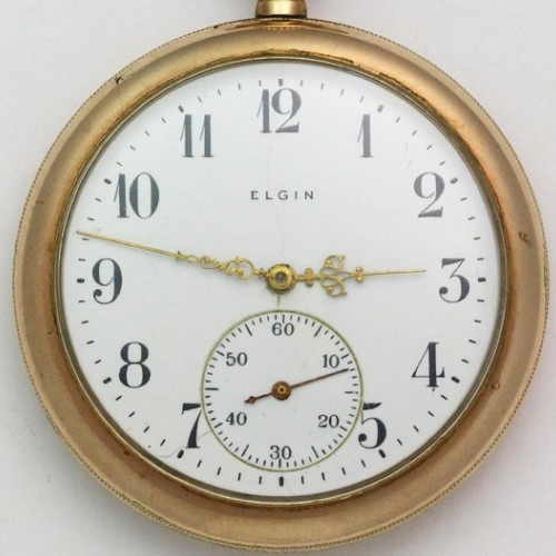 Elgin Grade 311 Pocket Watch Image