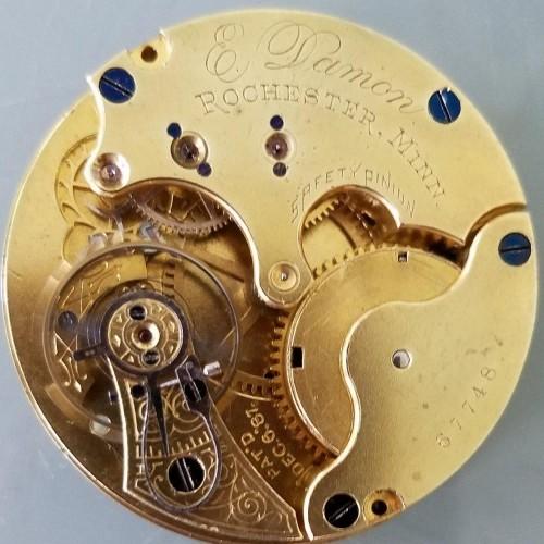 Seth Thomas Grade 71 Pocket Watch Image