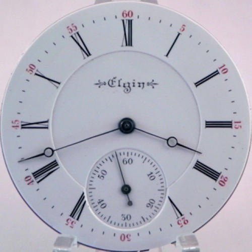 Elgin Grade 161 Pocket Watch Image
